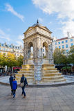 Innocenti del DES di Fontaine a Parigi, Francia fotografie stock