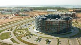 Innopolis is een nieuwe die stad in Rusland, in de Republiek Tatarstan wordt gevestigd stock footage