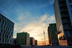 Innopolis nowej technologii miasteczko obrazy stock