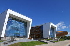 Innopolis universitetsområde Ryssland Arkivfoton