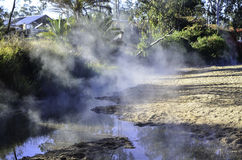 Innot Hot Springs. Is a small town in Far North Queensland. Many tourists pass through to soak in the naturally occurring hot springs stock photo