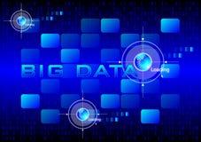 Datos grandes ilustración del vector