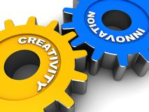 Innovación industrial Imagen de archivo libre de regalías