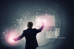 Innovaciones de la tecnología Imágenes de archivo libres de regalías