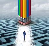 Innovate концепция группы Стоковые Изображения