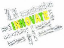 Innovate концепция дела. Стоковые Изображения RF