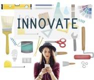 Innovate Aspiration Development Ideas Vision Concept.  stock photos