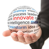 Innovate concept Royalty Free Stock Photos