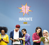 Innovate Create Ideas Aspirations Strategy Concept royalty free stock photo