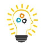 Innovate disign. Idea icon. Flat illustration , vector Royalty Free Stock Photos