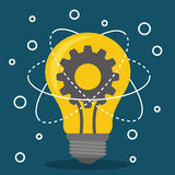Innovate disign. Idea icon. Flat illustration , vector Stock Photos