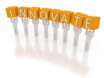 Innovate Stock Image
