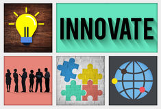 Innovate Invention Innovation Development Vision Concept Royalty Free Stock Photo