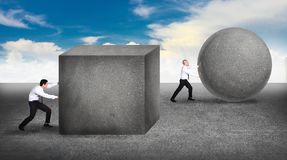 Innovatie in bedrijfsconcept Stock Foto