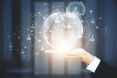 Innovatie en analyticsconcept Royalty-vrije Stock Foto's