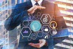 Innovatie en financiënconcept Stock Afbeeldingen