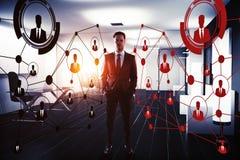 Innovatie en het huren concept Stock Afbeelding