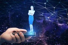 Innovatie en technologieconcept Royalty-vrije Stock Afbeeldingen