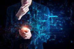 Innovatie en toekomstig concept royalty-vrije stock afbeeldingen