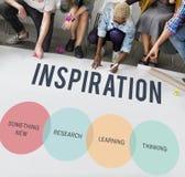 Innovatie Start Creatief Concept stock afbeeldingen