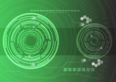Innovatie van de ogen de abstracte technologie Stock Afbeelding