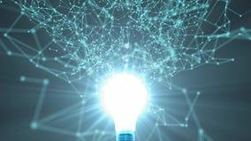 Innovatieve Ideeën Nieuwe Technologie Technologische vooruitgang 89 stock illustratie