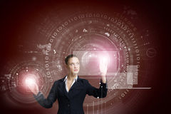 Innovatieve technologieën Stock Foto's