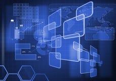 Innovatieve technologieën Stock Afbeelding