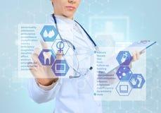 Innovatieve technologieën in geneeskunde Royalty-vrije Stock Afbeeldingen