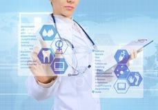 Innovatieve technologieën in geneeskunde Stock Afbeeldingen