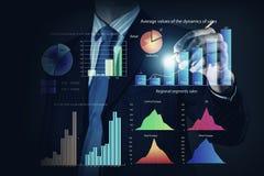 Innovatieve technologieën voor uw zaken Gemengde media stock fotografie