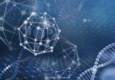 Innovatieve technologieën in wetenschap en geneeskunde royalty-vrije stock foto's