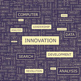 INNOVATION illustration stock