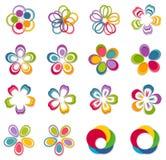 Innovation abstrakt logo Royaltyfria Bilder