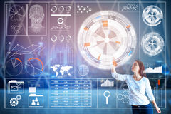 Innovation and analytics concept Stock Photos