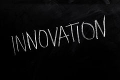 Innovation on Blackboard Stock Photos