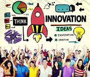 Innovation Business Plan Creativity Mission Strategy Concept Stock Photography