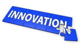 Innovation Business Puzzle Concept Royalty Free Stock Photography