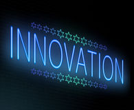 Innovation concept. Stock Photography