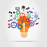 Innovation Concept vector design Royalty Free Stock Image