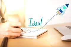 Innovation concept stock photography
