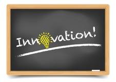 Innovation de tableau noir Image stock