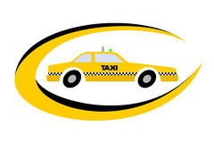 Innovation de taxi Image libre de droits