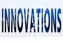 Innovation de Word photographie stock
