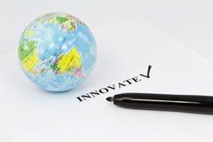 Innovation globale Photo stock