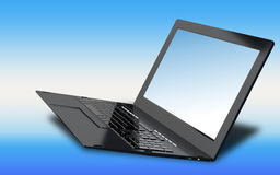 Innovation high speed laptop for global Internet technology. High innovation high speed laptop for global Internet technology Royalty Free Stock Photo