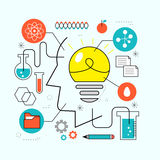 Innovation idea concept Royalty Free Stock Photography