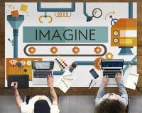 Innovation Ideas Imagine Processing System Concept Stock Photos