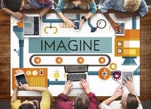 Innovation Ideas Imagine Processing System Concept Royalty Free Stock Photography