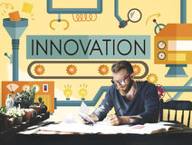 Innovation Ideas Imagine Processing System Concept Stock Photography